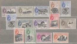 SIERRA LEONE 1956 Mi 176-188 SG 210-222 MNH(**) Read #23480 - Sierra Leone (...-1960)