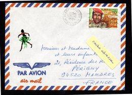 BURKINA FASO Enveloppe Cover Ouagadougou Tri 05 12 1984 - Burkina Faso (1984-...)