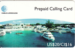 CAYMAN ISL. - Georgetown Harbour, Cable & Wireless Prepaid Card US$20/CI$16, CN : CAY-27, Tirage 5000, Mint - Kaimaninseln (Cayman I.)