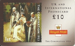Great Britain: IDT - Royal Mail, The Coronation 1953, 10.05 - Ver. Königreich