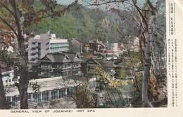 Rare Cpa Japon Années 50 Jokankei Spa Chaud - Nagoya