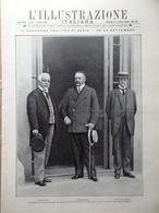 L'illustrazione Italiana 4 Ottobre 1908 Desio Wright Faenza Hofmannsthal Mistral - Libri, Riviste, Fumetti