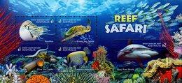 Australia - 2018 - Fauna Of Great Barrier Reef - Reef Safari - Mint Souvenir Sheet - 2010-... Elizabeth II
