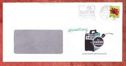 Brief, EF Schokoladen Kosmee Sk, Entwertet Caprima Freizeitbad Dingolfing Briefzentrum 84, 2018 (60454) - BRD