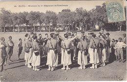 Blida ,musique Du 1er Régt De Tirailleurs,1905 - Uniformes