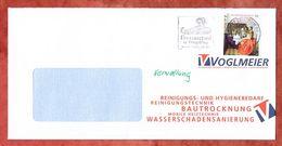 Brief, EF Delft Maedchen Sk, Entwertet Caprima Freizeitbad Dingolfing Briefzentrum 84, 2018 (60455) - BRD