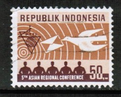 INDONESIA   Scott # 806 VF USED (Stamp Scan # 432) - Indonesia