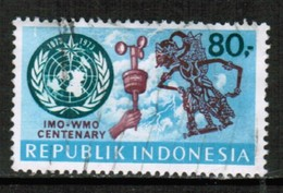 INDONESIA   Scott # 840 VF USED (Stamp Scan # 432) - Indonesia