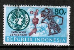 INDONESIA   Scott # 840 VF USED (Stamp Scan # 432) - Indonesië