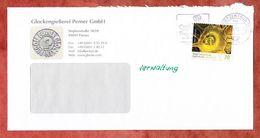 Brief, EF Bluete Odermennig Sk, Entwertet Caprima Freizeitbad Dingolfing Briefzentrum 84, 2017 (60458) - BRD