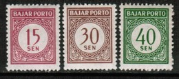 INDONESIA   Scott # J 70-2** VF MINT NH (Stamp Scan # 432) - Indonesië