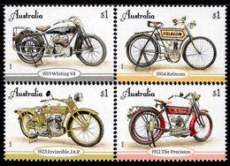 Australia - 2018 - Vintage Motorcycles - Mint Stamp Set - 2010-... Elizabeth II