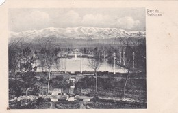 PARC DU SADRAZAM. PERSIA IRAN. CIRCA 1920s- RARISIME- BLEUP - Iran