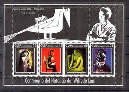 Hoja Bloque De Cuba N ºYvert 180 (**) - Blocks & Kleinbögen