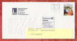 Brief, EF Delft Maedchen Sk, Entwertet Altoetting Briefzentrum 84, 2018 (60464) - BRD