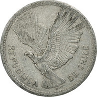 Monnaie, Chile, 10 Pesos, 1957, TTB, Aluminium, KM:181 - Chili
