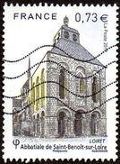 Oblitération Moderne Sur Timbre De France N° 5146 - Abbaye De Saint Benoît Sur Loire - France
