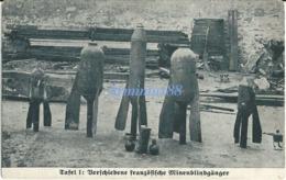 ✠ 14 - 18 ✠ Artillerie De Tranchée - 1916 - Projectiles - Verschiedene Französische Minenblindgänger - Oorlog 1939-45
