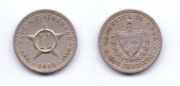 Cuba 2 Centavos 1916 - Cuba