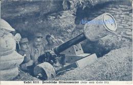 ✠ 14 - 18 ✠ Artillerie De Tranchée - 1917 - Lance-mines Gatard - Feindliche Minenwerfer - 21. Res.-Div. - Flörsheim Am M - Oorlog 1939-45