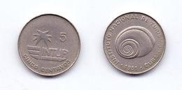Cuba 5 Centavos 1981 Visitor's Coinage (thin 5) - Cuba