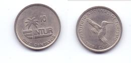 Cuba 10 Centavos 1989 Visitor's Coinage (small 10) - Cuba