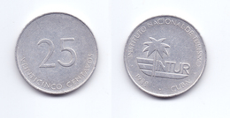 Cuba 25 Centavos 1988 Visitor's Coinage - Cuba