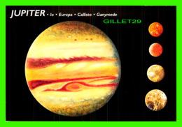 ASTRONOMIE - JUPITER, LO, EUROPA, CALLISTO, GANYMEDE - ILLUSTRATED BY BRUCE LAFONTAINE - DIMENSION 11.5 X 17 Cm - - Astronomie