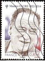Oblitération Moderne Sur Timbre De France N° 5134 ** Homme Politique - Maurice Faure - France