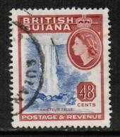 BRITISH GUIANA   Scott # 263 VF USED (Stamp Scan # 432) - British Guiana (...-1966)