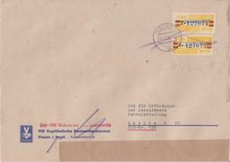 DDR Dienst B ZKD Mi 25 (2) MeF Bf Plauen Sachsen 1959 - DDR