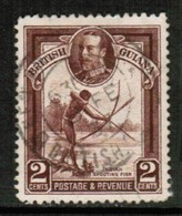 BRITISH GUIANA   Scott # 211 VF USED (Stamp Scan # 432) - British Guiana (...-1966)