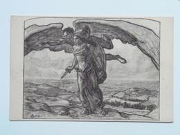 7305 Prima Guerra Pubblicitaria Publicita Militare Italia Italy 1916 Osservatori Dall Aereo Areoplano Plane - Guerra 1914-18