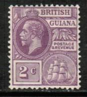 BRITISH GUIANA   Scott # 193* VF MINT HINGED (Stamp Scan # 432) - British Guiana (...-1966)