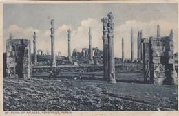 RUINS OF PALACES, PERSEPOLIS, PERSIA. IRAN. COPYRIGHT J.B.KARANI'sSONE. MR CHAINA'S SERIE. CIRCA 1920s - BLEUP - Iran