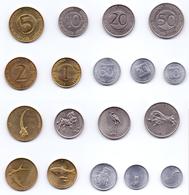 Slovenia 9 Coins Lot - Slovenia