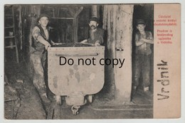 Serbia Srbija Vrdnik Rednek Mine Of King Colliery Charcoal Coal Pit Tram Industry 0001 Post Card Postkarte POSTCARD - Serbie