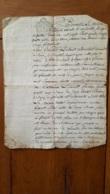 ACTE NOTARIE  12/1784  ACTE NOTAIRE DE ARC SUR TILLE CONCERNE LECHENET PRUDENT DE BEIRE LE CHATEL - Documentos Históricos