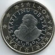 Slovenie 2018     1 Euro   UNC Uit De BU  UNC Du Coffret  !! Zeer Zeldzaam - Extréme Rare !! - Slovénie