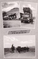 QUER DUCH PERSIEN. MULTI VUE VIEW VISTA. EXPEDITION IN PERSIEN. FOTO PAUL ROHR. IRAN. CIRCA 1940s- RARISIME-TBE- BLEUP - Iran