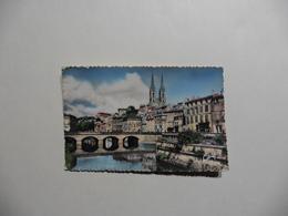 CPA  : Niort (79) Le Vieux Pont Et L'église Saint-André En 1962 - Niort