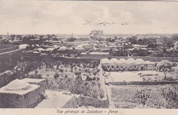VUE GENERALE DE SABZEVAR, PERSE. IRAN. SEYED ABDOR RAHIME KANACHI. CIRCA 1910s- RARE- BLEUP - Iran
