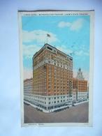 CPA HOUSTON TEXAS LAMAR HOTEL METROPOLITAN THEATRE LOEW' S THEATRE - Houston