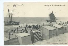 Heist Heyst La Plage Et Les Bateaux De Pêche - Heist