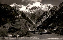Ruine Rabenstein Bei Virgen, Osttirol Mit Kristallkopf - Österreich