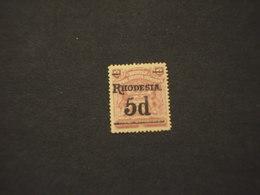RHODESIA SUD - 1909 STEMMA 5 Su 6 (dente Corto) - NUOVO(+) - Southern Rhodesia (...-1964)