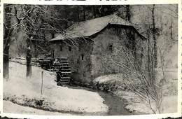 Onoz - Le Vieux Moulin Sous La Neige (XVe Siècle, Photo D'Art Bethune) - Jemeppe-sur-Sambre
