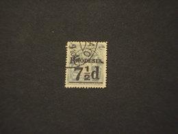 RHODESIA SUD - 1909 STEMMA 7/ 1/2 Su 2/6 - TIMBRATO/USED - Southern Rhodesia (...-1964)