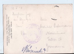 U3739 Postcard 1938 OLYMPIA, TEMPEL DES ZEUS - Archeologie, Archeology, Archeologia _  Nice Timbre - Grecia
