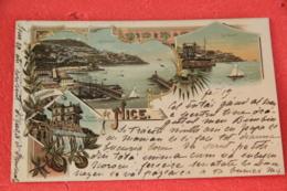 06 Nice Gruss 21.02.1898 Sent To Nicoline Brescia - Nizza